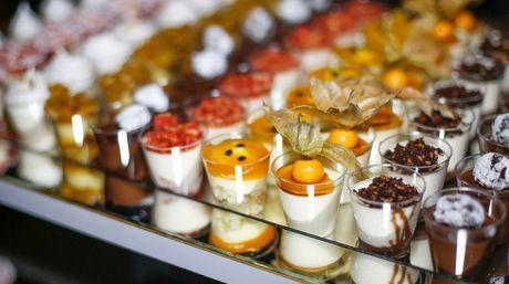 Mini Vasito Degustacion Catering Candy Bar Postres