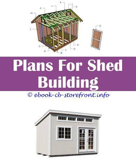 Pin Su Easy Garden Shed Plans