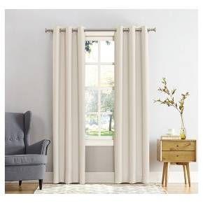 63 X40 Kenneth Energy Saving Blackout Grommet Top Curtain Panel Cream Sun Zero Panel Curtains Grommet Curtains Grommet Top Curtains