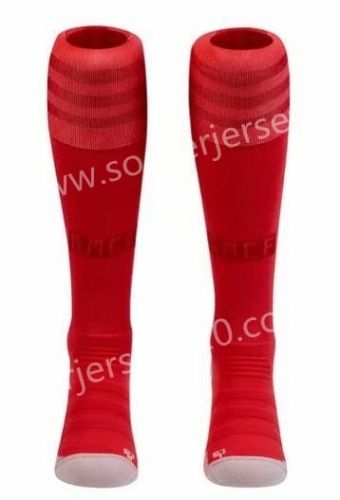 2018 19 Real Madrid 2nd Away Red Thailand Soccer Socks
