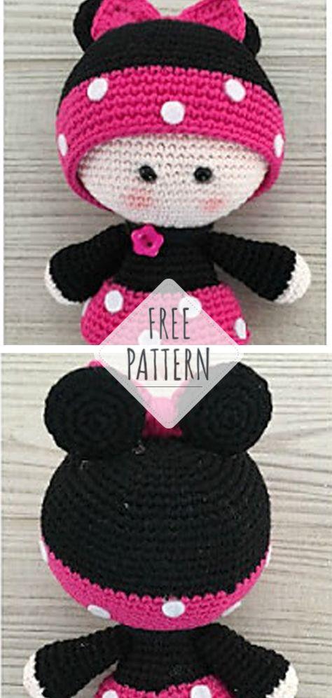 Amigurumi Poupons YOYO crochet partie 2/2 / YOYO mini dolls ... | 997x474