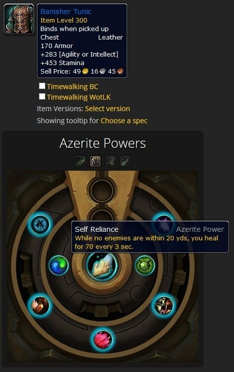Azerite Traits And The Heart Of Azeroth Guides Wowhead Azeroth Traits Leather Armor