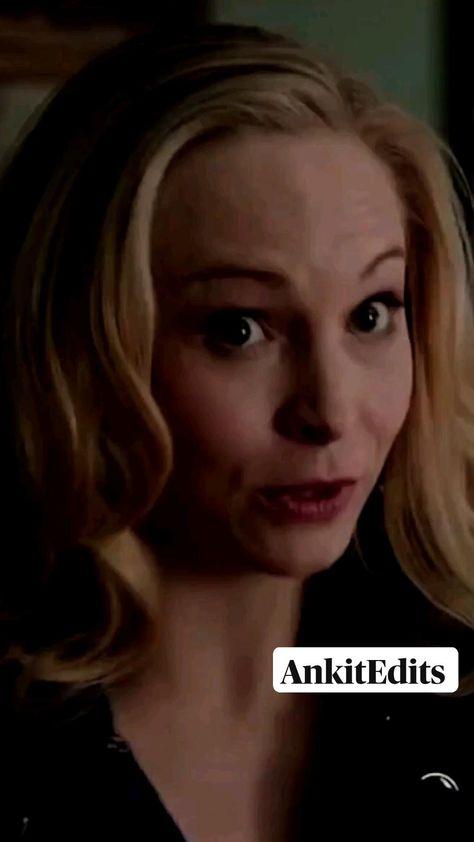 Caroline Forbes| The Good Vampire | Vampire diaries | AnkitEdits