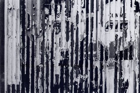 Wall in France, 1960s. Photograph: Herbert Spencer. From the essay: Herbert Spencer and the Decisive Detail