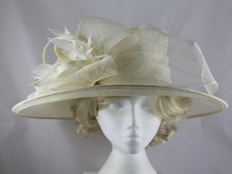 9d1128f3a57dd Failsworth Millinery Wedding / Events Hat in Ivory | occasion wear ...