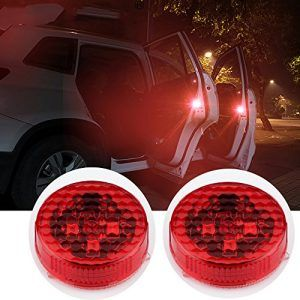 1 Set 3 Angel Eyes Fog Lights Led Headlight Lamp Universal Daytime