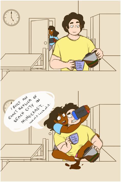 See more 'Steven Universe' images on Know Your Meme! Connie Steven Universe, Steven Universe Pictures, Steven Universe Ships, Steven Universe Funny, Universe Images, Universe Art, Steven Universe Theories, Cute Comics, Funny Comics