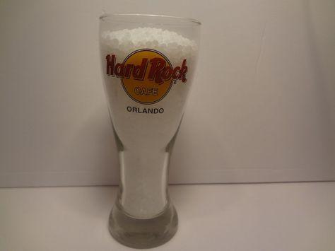 Hard Rock Cafe Orlando Pilsner Glass 20 ounce