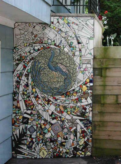 Outdoor Mosaic Tile Project Mosaic Wall Art Mosaic Garden Art Mosaic Art