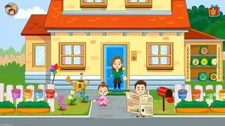 لتنخرط في مغامرات لا متناهية في لعبة My Town Home Dollhouse التعليمية والممتعة تتوفر هذه اللعبة المصممة من أجل الصغار على منزل دمى مليء بأشياء My Town Towns