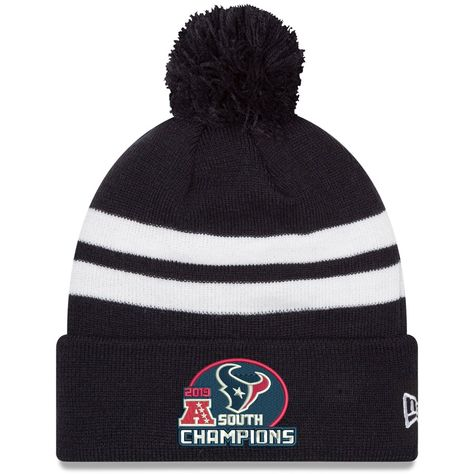 really comfortable good amazing price Men's Houston Texans New Era Navy 2019 AFC South Division ...
