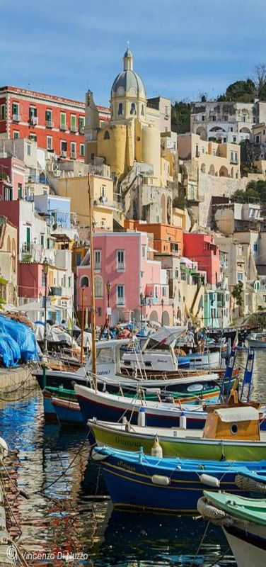 Procida Island. Naples, Italy by vincenzo di nuzzo www.mediteranique.com/hotels-italy/