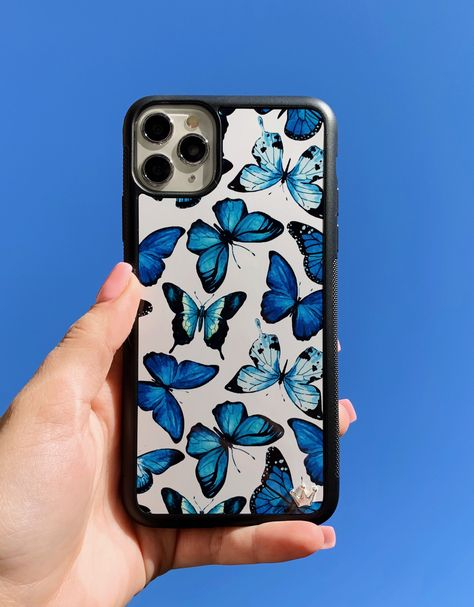Lilac Reign 🦋 Bluu Butterflies 🦋iPhone Case Get your Free iPhone 11 Pro Or Apple Accessoires GiftNo credit Card needed