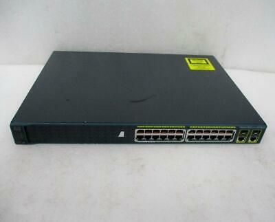 Ebay Link Ad Cisco Ws C2960 24pc S Catalyst 2960 Series Si Poe 2 24 Port 10 100 Poe H624 In 2020 Ebay Cisco Online