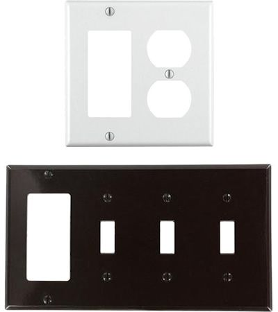 Leviton Decora Combination Wall Plates You Can Also Get Plates