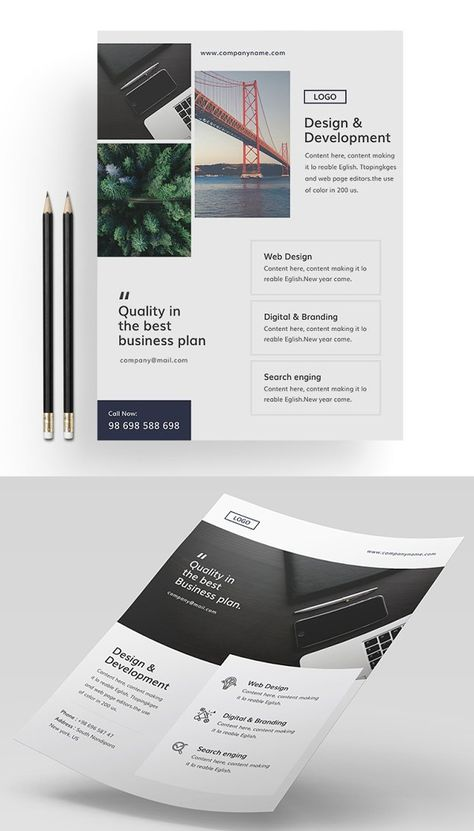 Flyer Templates: 26 Professional Business Flyer Templates | Design | Graphic Design Junction