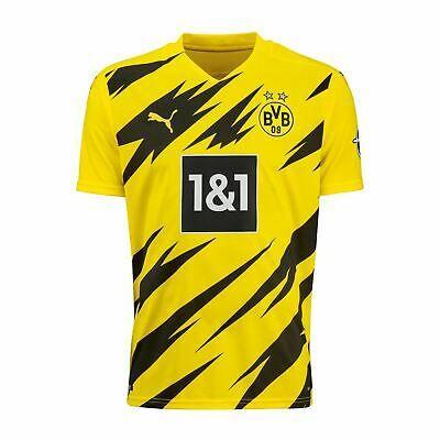 Puma Kids Borussia Dortmund Home Shirt 2020 2021 Jersey Football ...