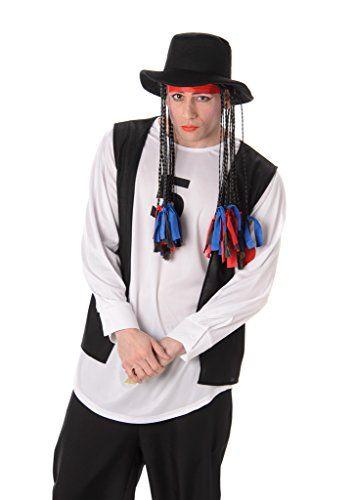 Boy George Costume Wig