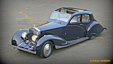1932 Rolls-Royce Phantom ll Continental Berline, by Figoni et Falaschi