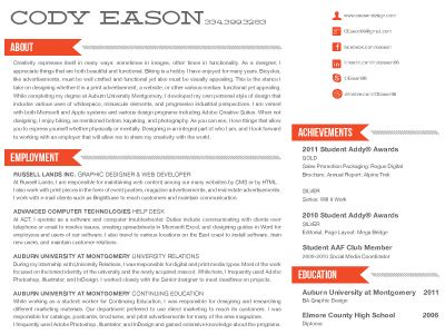 Resume Design Ideas CVs \/\/ Career Tools + Resumes Pinterest  Creative Resume Headers