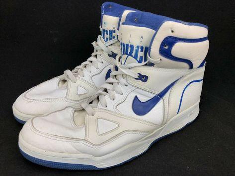 Vintage Nike Air Delta Force For Repair Hi Top Basketball