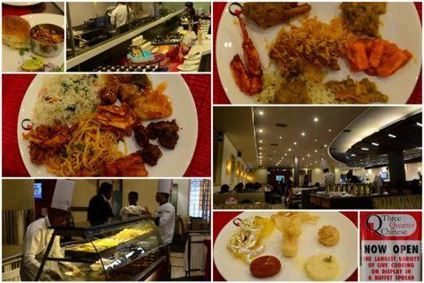 Three Quarter Chinese Bangalore Restaurant Review Chinese Restaurant Restaurant Food