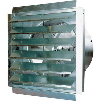 Maxxair Ventamatic Exhaust Fan 3 000 Cfm Includes Shutter Model If18ups In 2020 Exhaust Fan Exhaust Fan Industrial Wall Mounted Exhaust Fan