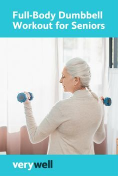 Thinking about starting strength training? This seniors' program uses exercises for upper and lower body strength and conditioning. All you need is dumbbells!
