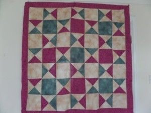 Pisa cathedral quilt pattern based on the floor tiles. Design and tutorial by Ludlow Quilt and Sew.