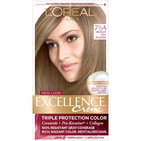 L Oreal Paris Excellence Creme 7 5a Medium Ash Blonde 1 Kit