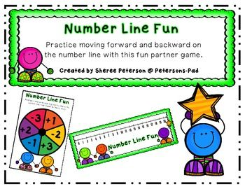 Here's a game for students to practice moving forward and backward on a number line.