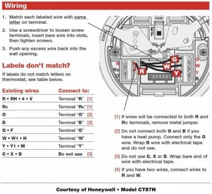 16+ Honeywell Thermostat Wiring Diagram in 2021 | Thermostat wiring,  Wireless thermostat, Honeywell | Hvac Thermostat Wiring Hangers |  | Pinterest
