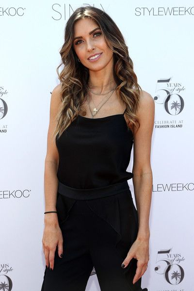 Audrina Patridge attends Fashion Island's StyleWeekOC.