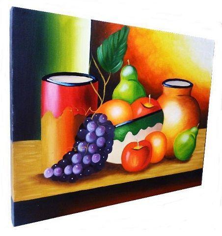 cuadros de frutas para comedor decorativas | cuadros oleos ...