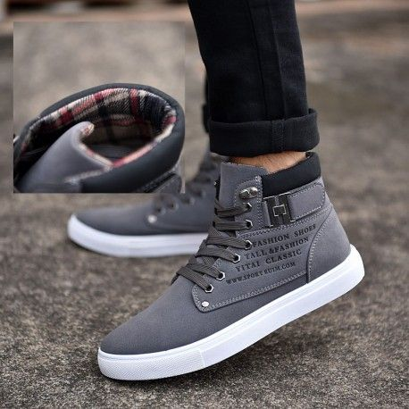 Canvas High Top Sneaker Casual Skate Shoe Boys Girls Serbia Flag