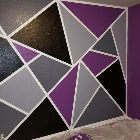 23 Ideas Wall Painting Ideas With Tape Design