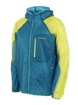 shades of official site incredible prices Berghaus Vapour Windshirt - Aquamarine/Lemon Sour | Cool ...