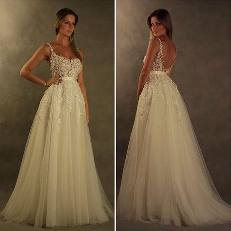 Carlos Bacchi - vestido de festa branco noiva