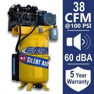 Husky Black And Gray Welded Steel Floor Cabinet 46 In W X 72 In H X 24 In D Kf3f462472 H9 The Home Depot Electric Air Compressor Air Compressor Compressor