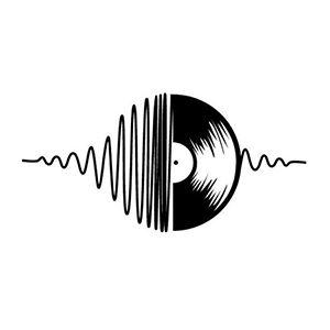 Heartbeat Vinyl Die Cut Vinyl Decal PV2361
