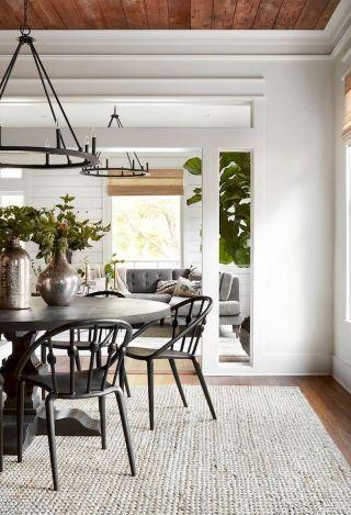 20 Best Modern Farmhouse Rugs Decor Ideas Dining Room Design