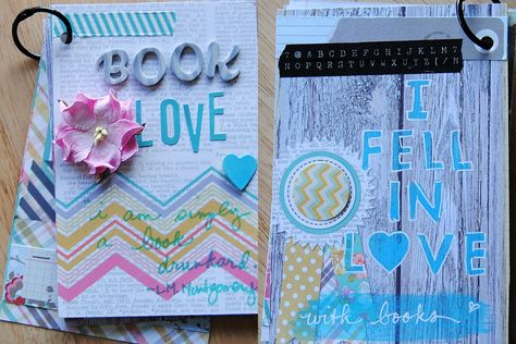 Book Love mini--covers - Scrapbook.com by Lori Wilbanks