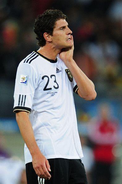 Mario Gomez Photos Photos Germany V Spain 2010 Fifa World Cup Semi Final Mario Gomez Fifa World Cup Fifa