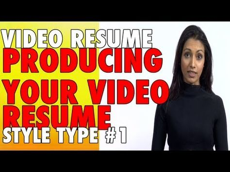 Video Resume Elevator pitch with transitions 6mic Films - video resume website