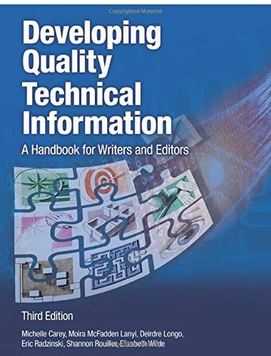 Download Pdf Developing Quality Technical Information A Handbook For Writers And Editors 3rd Edition Ibm Press Free Development Ebook Commercial Architecture
