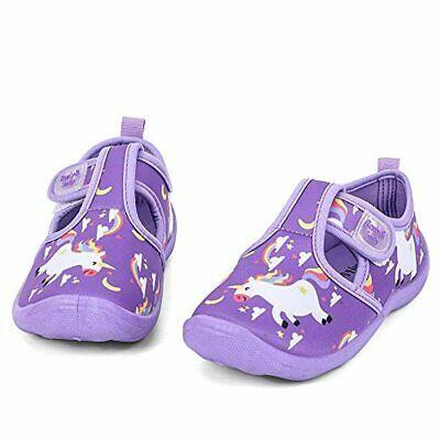 nerteo Toddler Water Shoes Girls Boys Aqua Socks for Beach Swim Pool