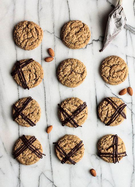 Almond Espresso Cookies