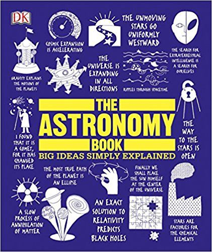 The Astronomy Book Big Ideas Simply Explained Dk 9781465464187 Books Astronomy Books Audio Books