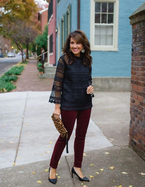 Tis the season! I wanted to pop in and share some holiday outfits with you from Gibson and their Glam Collection. There are lots of versatile pieces that can be worn together or separate.  Most pieces can be dressed down for day or dressed up for night. They also come in regular, petite, and plus sizes!  #holidayoutfit #fashionover40 #winterfashion #womensfallfashionover40shirts