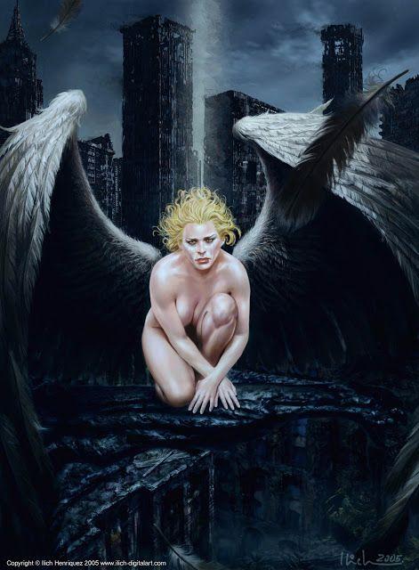 ... Fairies and elves ...: Angeles oscuros II
